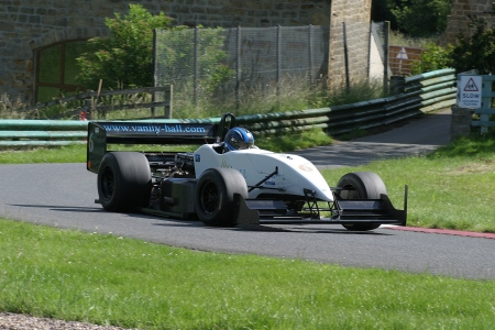 Will Hall at Harewood in the Force WH